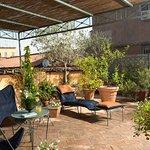Rome's room terrace