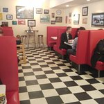 Traditional Diner Ambiance