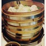 Xiao long bao. Dim sum de sopa. Soup dumplings. Deliciosos!