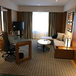 view as you enter, grand deluxe room.