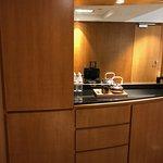 minibar and tea/coffee cabinet.