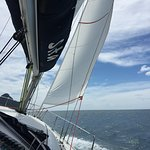 Good weather, good wind, good sailing, good time.