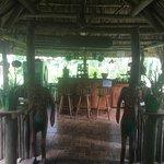 Loving life at McCaw Jungle Lodge.