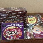 this is the pkg that a friend sent to me that made me want to go to Zingeman's in person