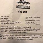 'THe Bat'programme