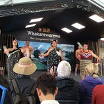 The Maori Village was a great place to visit on the tour