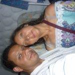 Con mi esposa en la habitación del hotel. Fresca y tranquila, y muy silenciosa