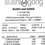Photo of Sushi and Gong