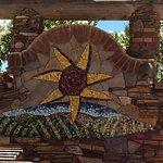 Mosaic Tile artwork outside