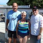 Captain Slate, Kathy, & Steve