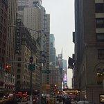 Vista desde la 7th avenue hacia Time Square