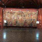 Sala Capitular con una de las mas bellas colecciones de tapices de España con mas de 60 piezas.