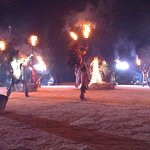 Mayan Fire Show.  Amazing job of storytelling, riveting!  Transported the viewer back in time.