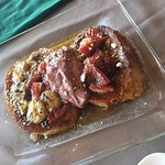 French toast with berries and bananas