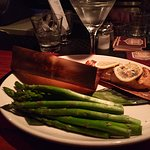 CEDAR Wrapped Salmon and Steamed Asparagus (Clean Eats)