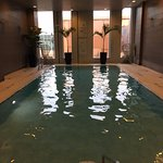 very pretty inside pool on 2nd floor