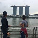 Marina Bay Sands from a far