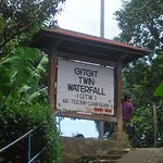 Entry to the GitGit waterfall