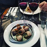 Absolutely beautiful lunch! Escargot was out of this world.