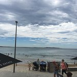 Beautiful outlook over Cronulla Beach.  Stormy weather predicted but still gorgeous and relaxing