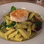 Gluten free Pasta with Goats Cheese