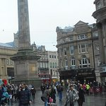 The top of Grey's street by Grey's Monument