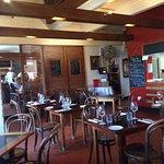 Quaint dinning room very appealing
