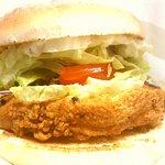 Southern Fried Chicken Fillet Burger