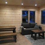 Valkea Lodge Living room