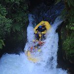 Highest commercially rafted waterfall in the world