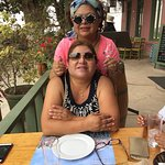 Lunch time with my sister ... Pisco Mosto Verde (Acholado) Tacama Reserve one of the best...