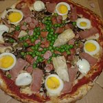 Bayleaved Special Pizza