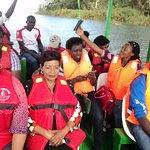ON a boat ride in Naivasha  at the Lake Naivasha