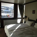 My room at Chalet Hotel Le Val d'Isere