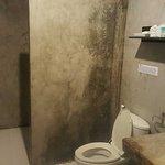 Concrete cell of a bathroom