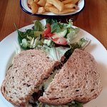Lunchtime steak sandwich bargain at The White Hart (23/Jan/17).