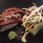 Duck sushi - to get your evening and belly started!