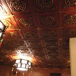 their famous ceiling - unchanged for 30 plus years - they should be proud of that