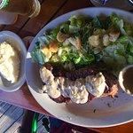Steak w/ Salad