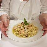 seafood spaghetti starter