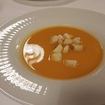 sweet potato soup - gorgeous!