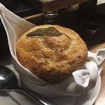 Chicken pot pie. Very good.