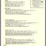 The main menu