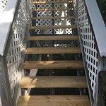 New steps to Pool Suite Verandas