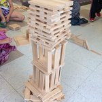 Try your hand at building with over 2000 KEVA blocks!
