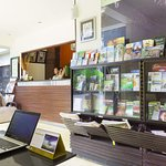 Reception counter and tour desk with friendly staffs....