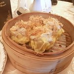 Siu Mai -Shrimp & Pork Dumpling with Conpoy