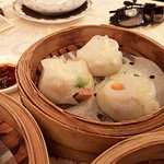 Luncheon Meat & Zucchini Dumpling with Preserved Vegetable