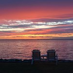 Sunset over the Chesapeake Bay.