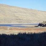 Вид на озеро Грант